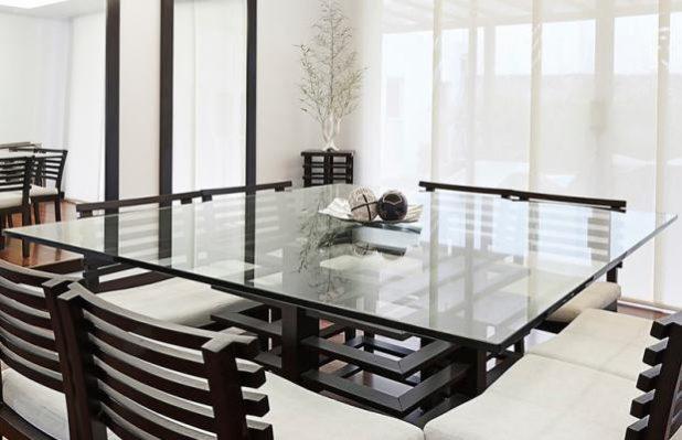como embalar mesa de vidro