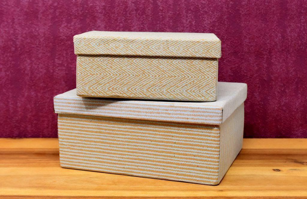 Caixas organizadoras baratas - papelão