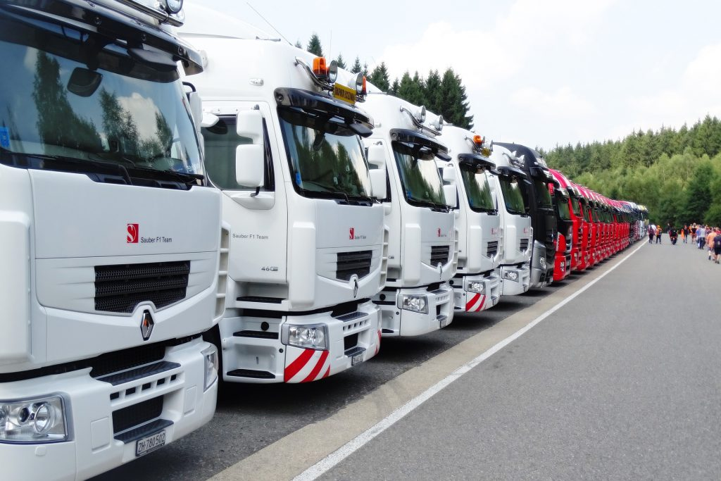 Serviço de transporte de cargas