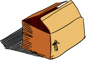 Caixas de papelão para mudança em SP