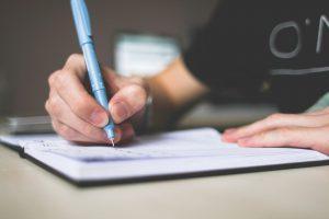Planilha ou checklist para organizar a mudança_anote