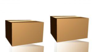 Kit de caixa para mudança