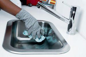 serviços de limpeza na mudança